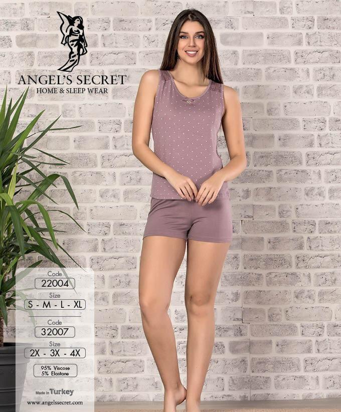 Пижама женская шорты 22004 GK