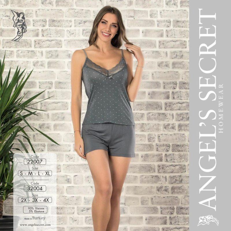 Пижама женская шорты 22007 G