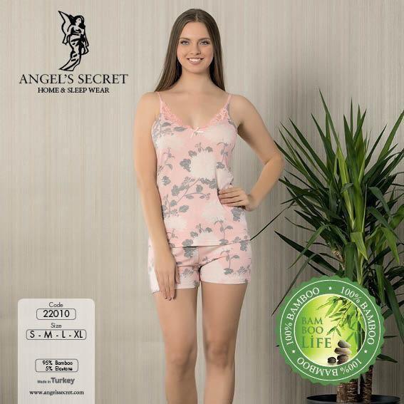 Пижама женская шорты 22010 P