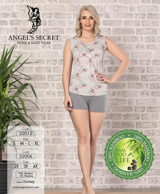 Пижама женская шорты 22012 C