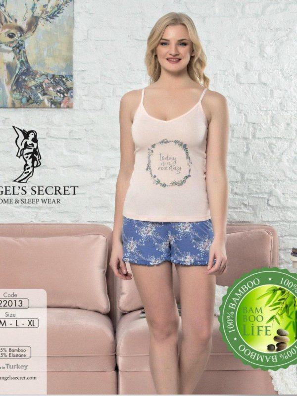 Пижама женская шорты 22013 P