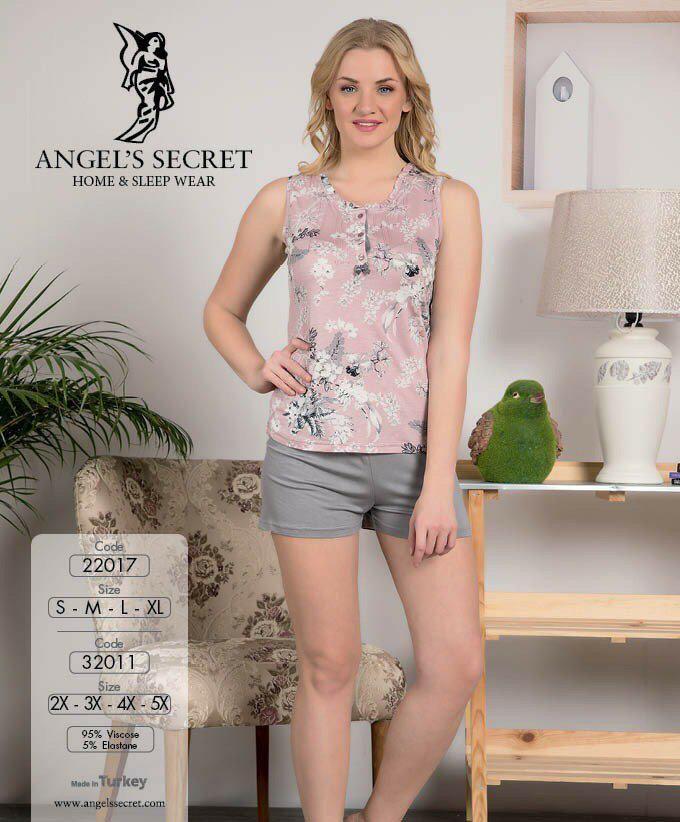 Пижама женская шорты 22017 C