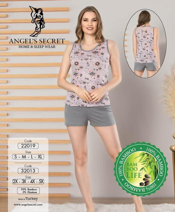 Пижама женская шорты 22019 L