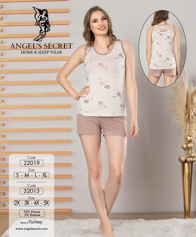 Пижама женская шорты 22019 E