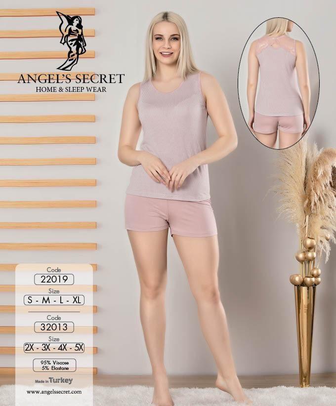 Пижама женская шорты 22019 P