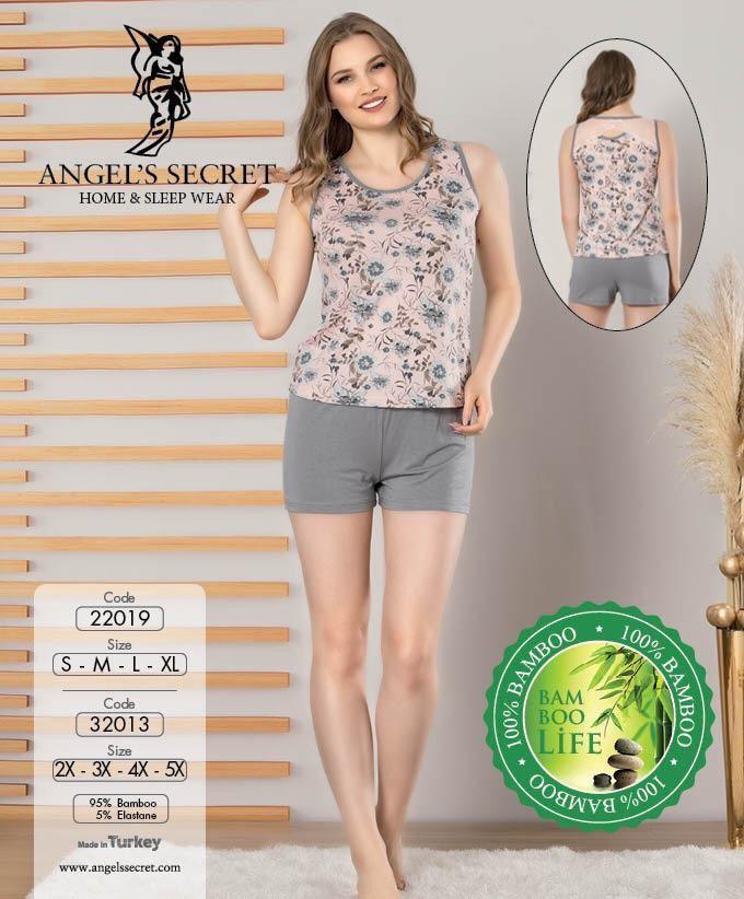 Пижама женская шорты 22019 S