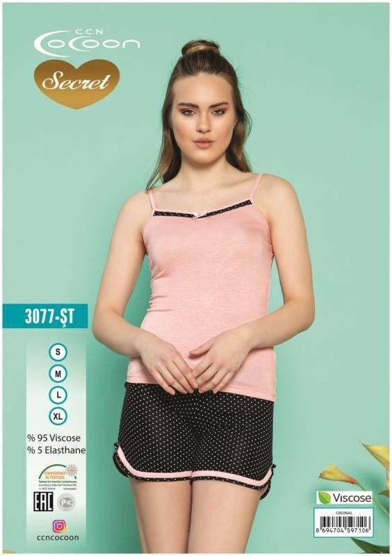 Пижама женская Шорты Cocoon 3077 ST