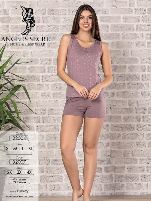 Пижама женская шорты 32007 G