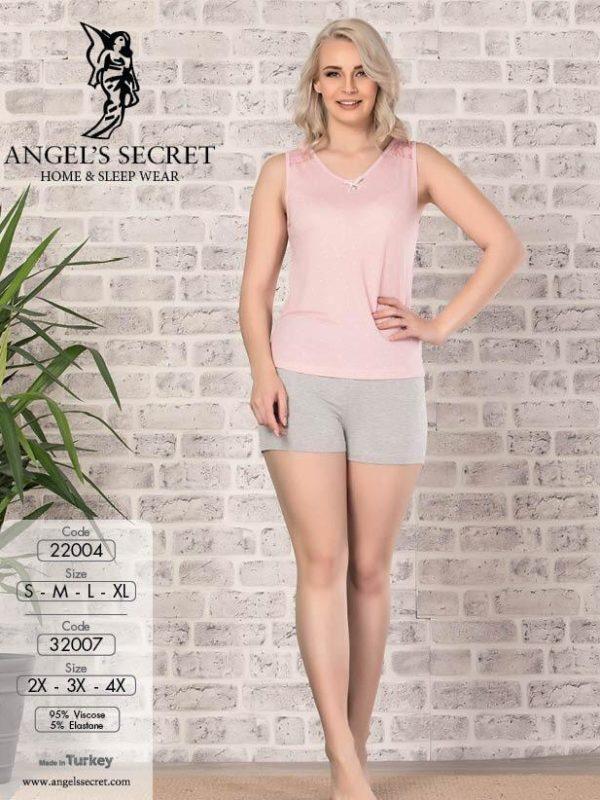Пижама женская шорты 32007 P