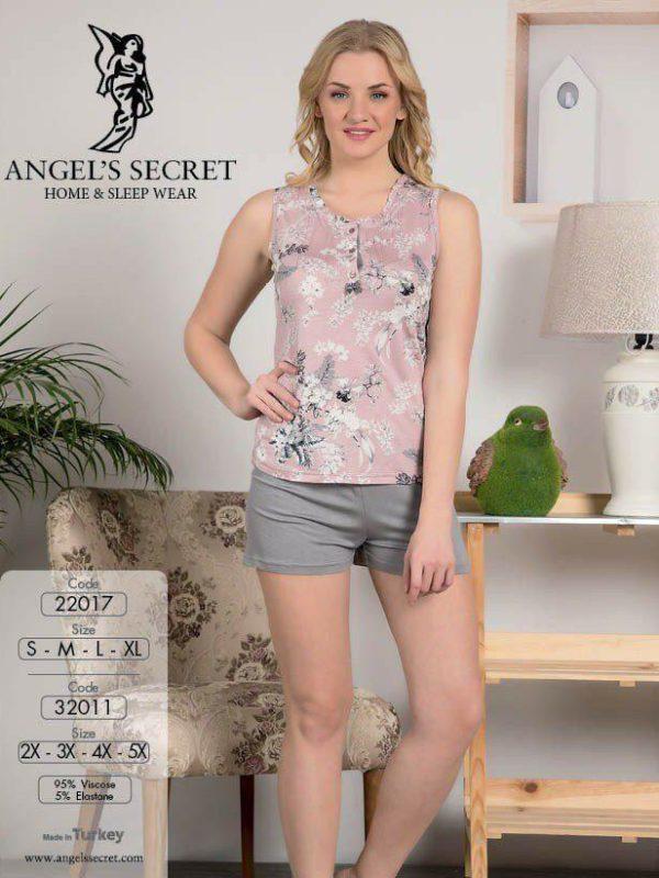 Пижама женская шорты 32011 C