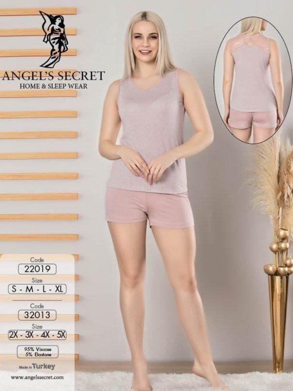 Пижама женская шорты 32013 P