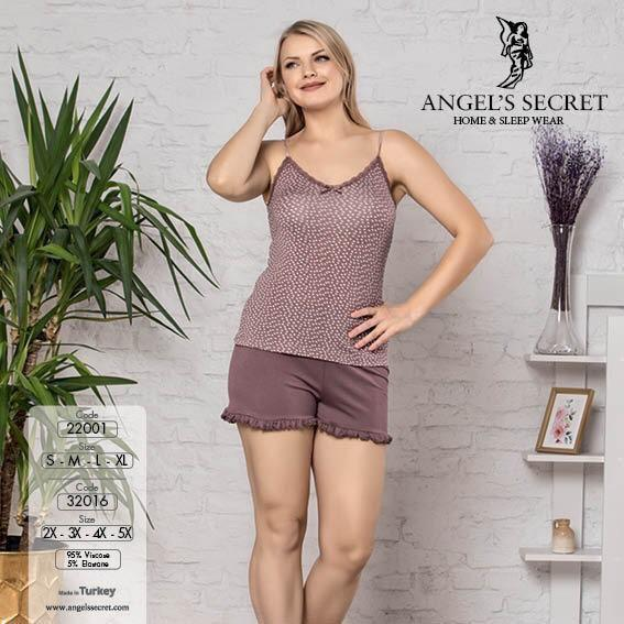 Пижама женская шорты 32016 KB