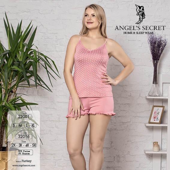 Пижама женская шорты 32016 P