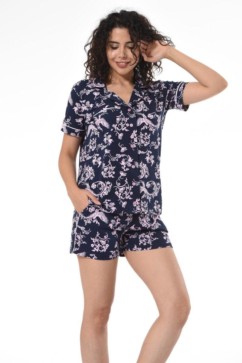 Пижама женская Шорты Nicoletta 80987