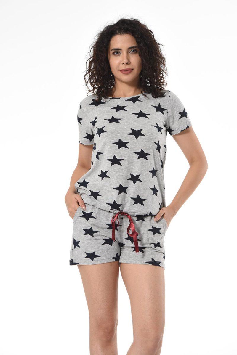 Пижама женская Шорты Nicoletta 80989