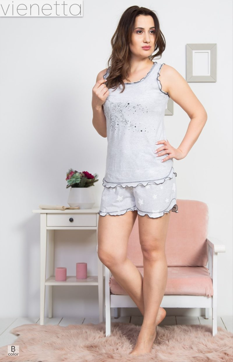 Пижама женская шорты 8114131264