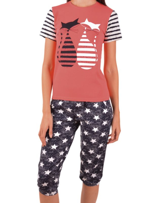 Пижама женская капри Nicoletta 82470