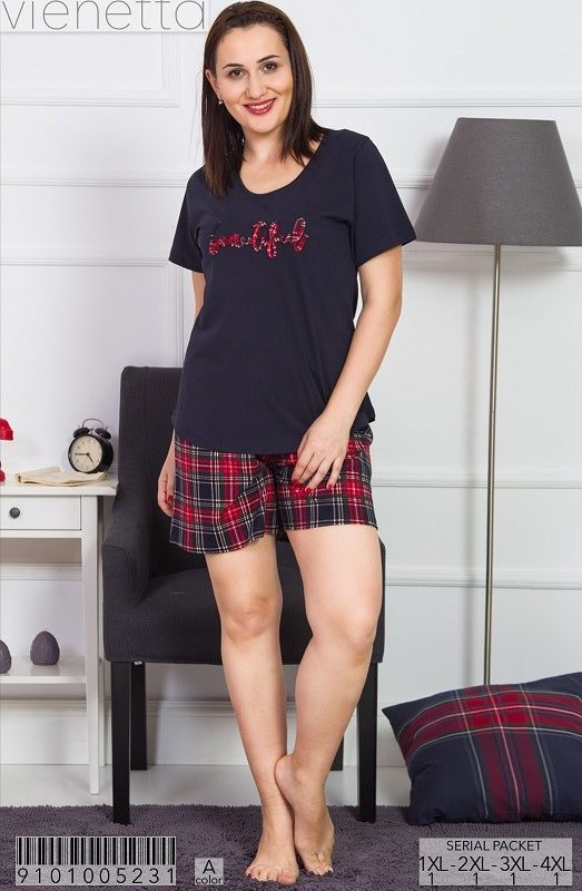 Пижама женская шорты 9101005231