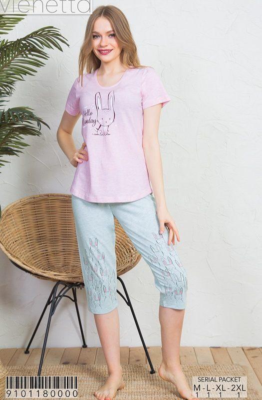 Пижама женская Капри 9101180000