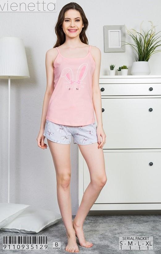 Пижама женская Шорты 9110935129
