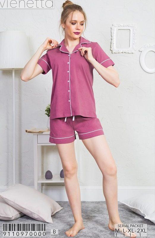Пижама женская Шорты 9110970000