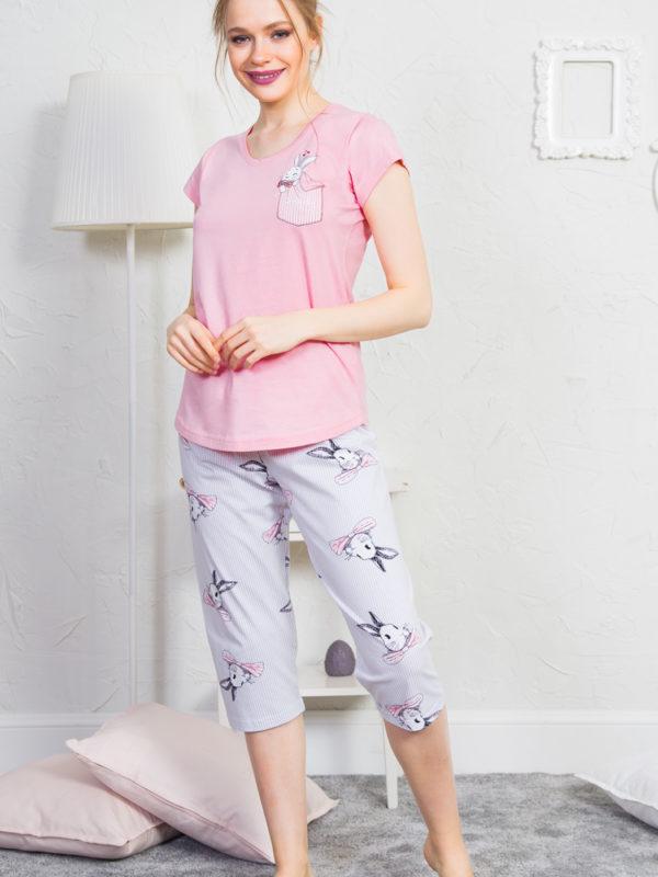 Пижама женская Капри 9111370213