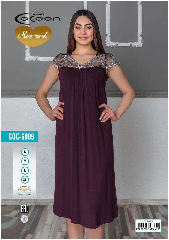 Туника женская Cocoon 6009 MRD