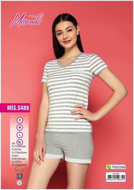 Пижама женская Брюки MIS-S 489