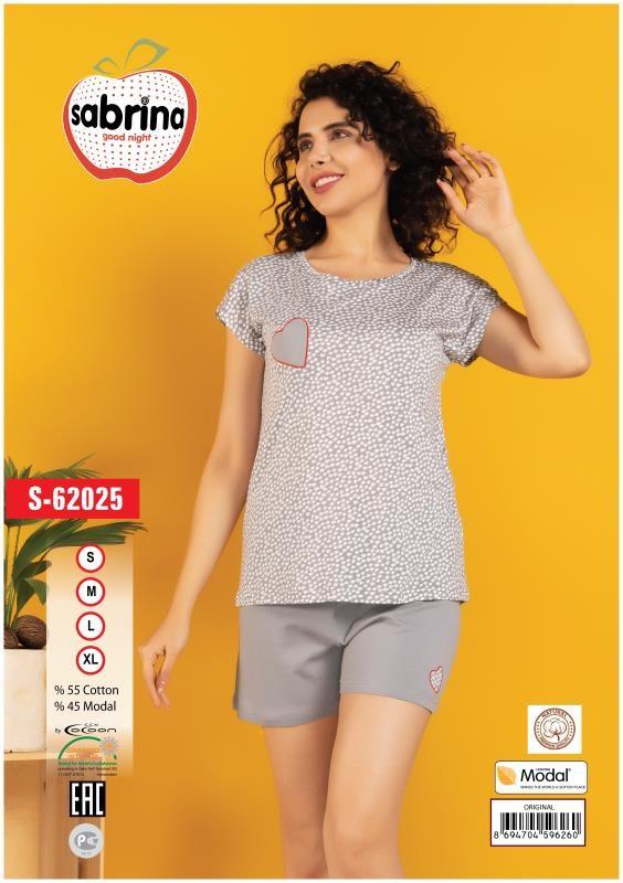Пижама женская Шорты SAB.S 62025
