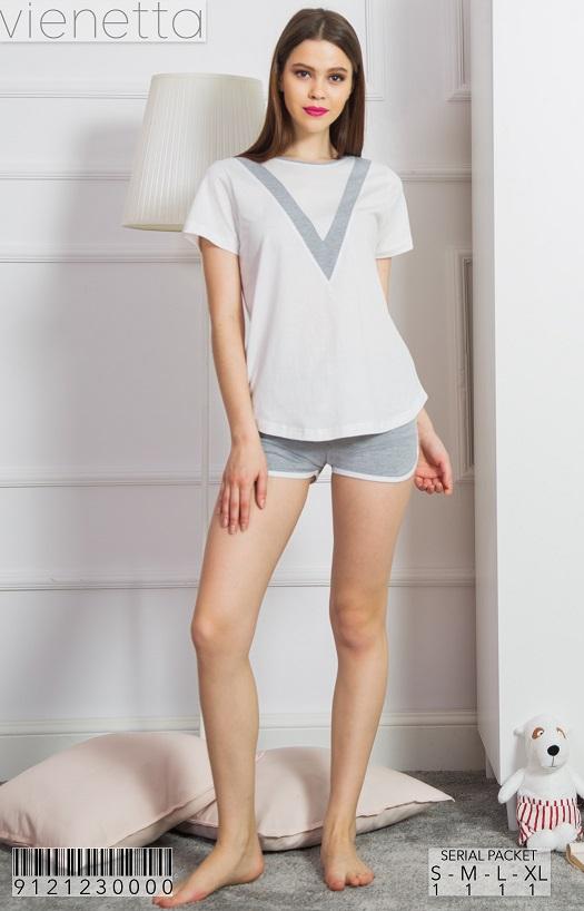 Пижама женская шорты 9121230000