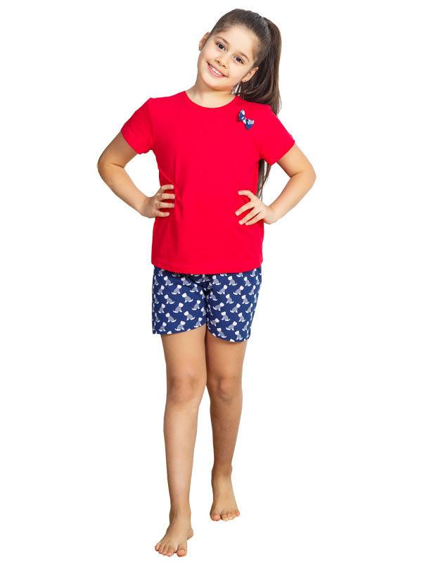 Пижамы детские шорты