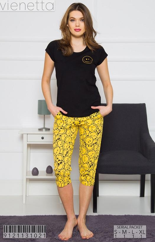 Пижама женская капри 9121131021